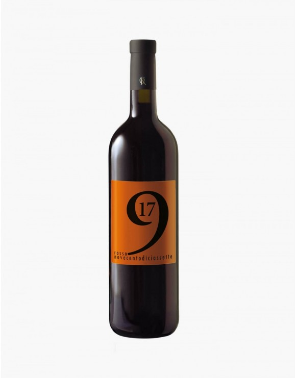 Rosso '917 (2014) etichetta arancio