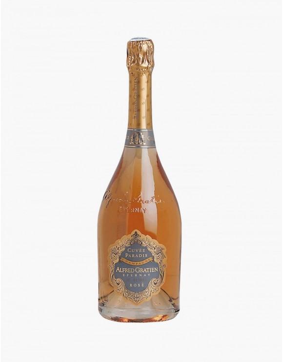 Champagne cuvèe paradis brut rosè
