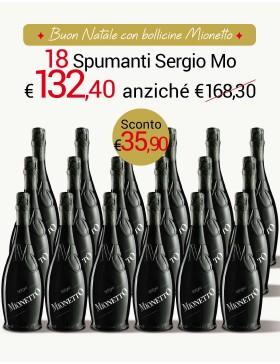Sergio Mionetto Speciale 18 bottiglie