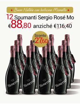 Sergio Rosè Mionetto Speciale 12 bottiglie